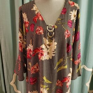 Relativity floral print blouse